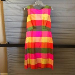 Macy's Block Colored Dress